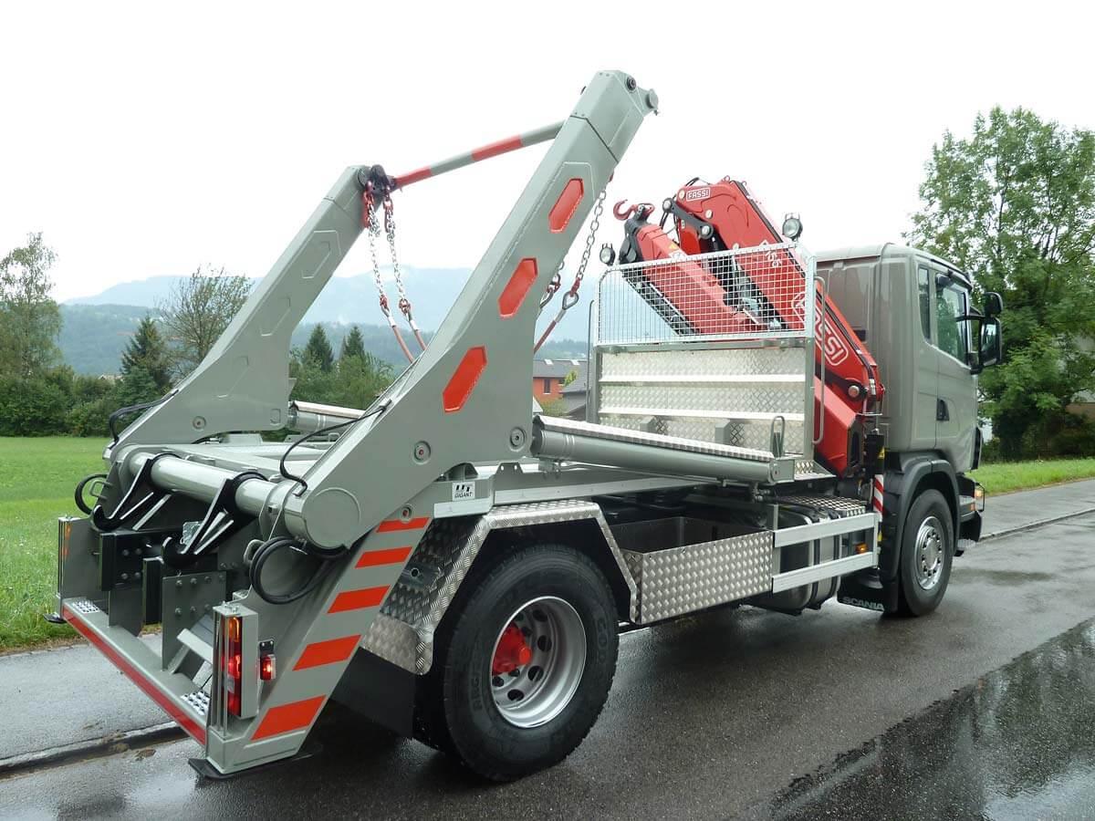 Teleskop-Absetzkipper GIGANT 16T Comfort – Scania