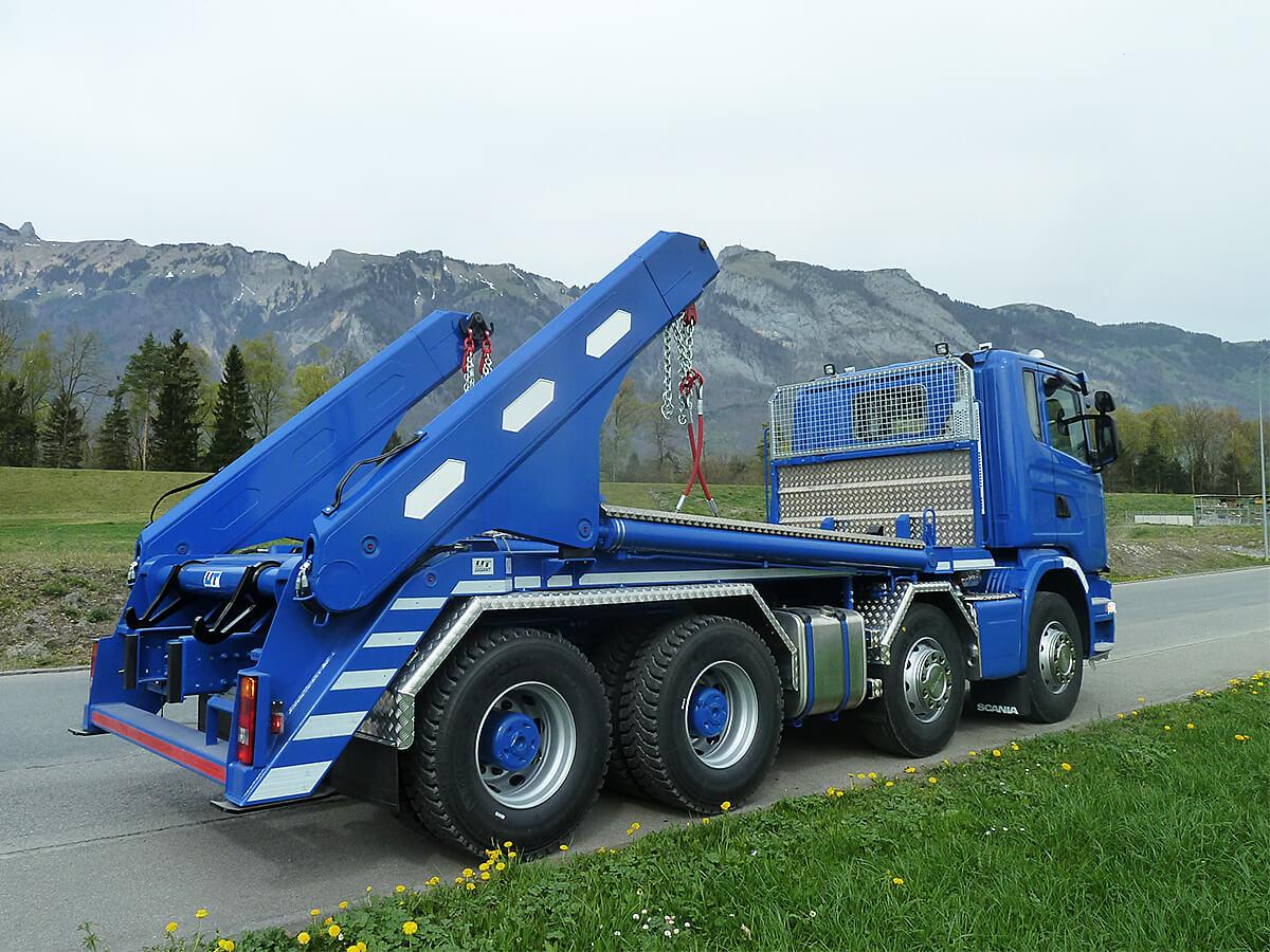 Teleskop-Absetzkipper GIGANT 32T Comfort – Scania