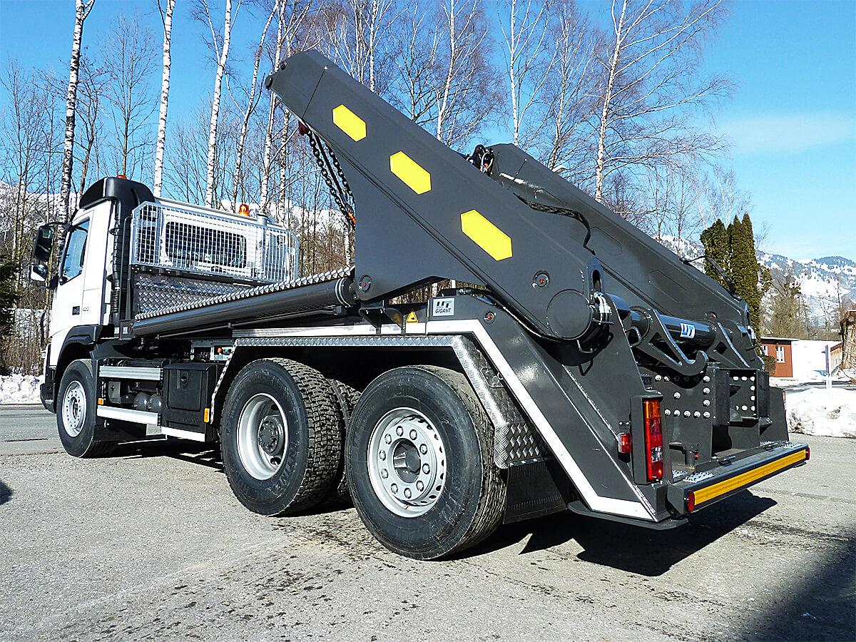 Teleskop-Absetzkipper GIGANT 32T Comfort – Volvo