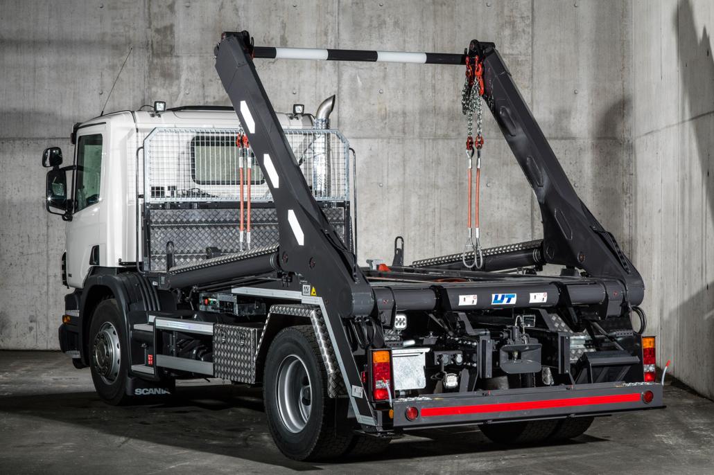 Welaki: Absetzkipper GIGANT von UT Umwelt- und Transporttechnik AG