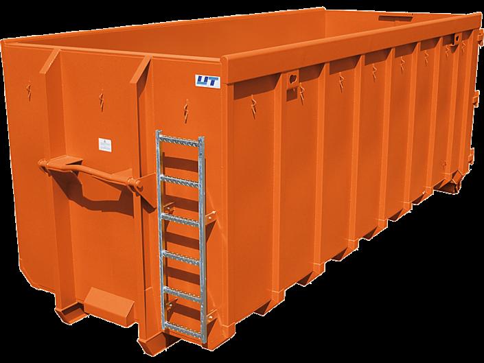 Container von UT. Abrollcontainer klassisch