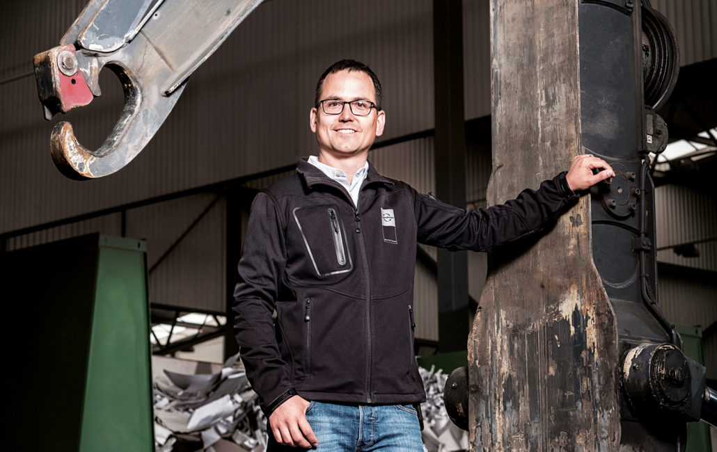Sascha Quaderer, Eggenberger Recycling AG