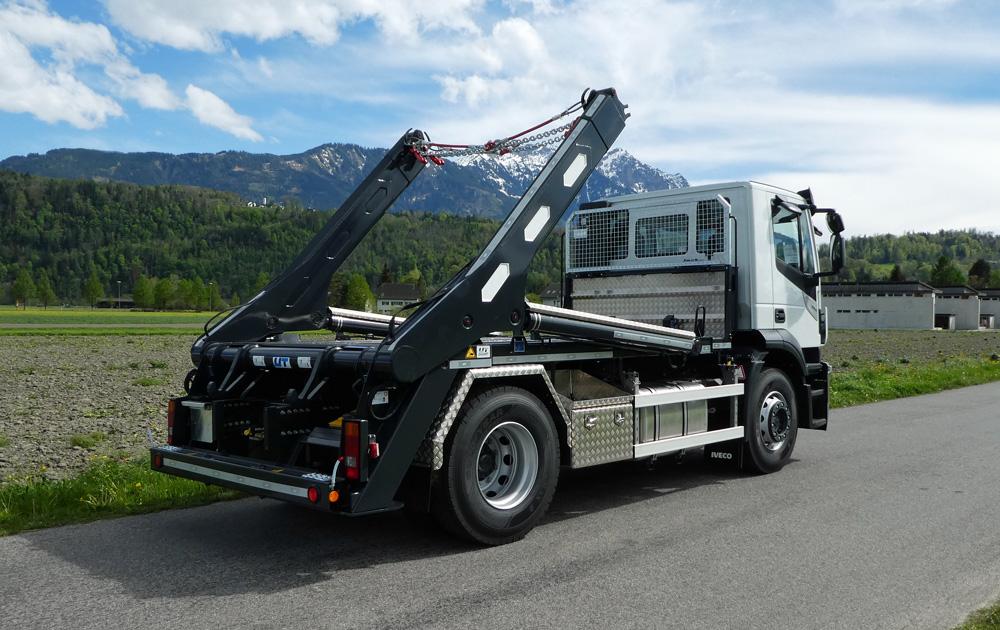 Teleskop-Absetzkipper GIGANT 18T Comfort - Iveco