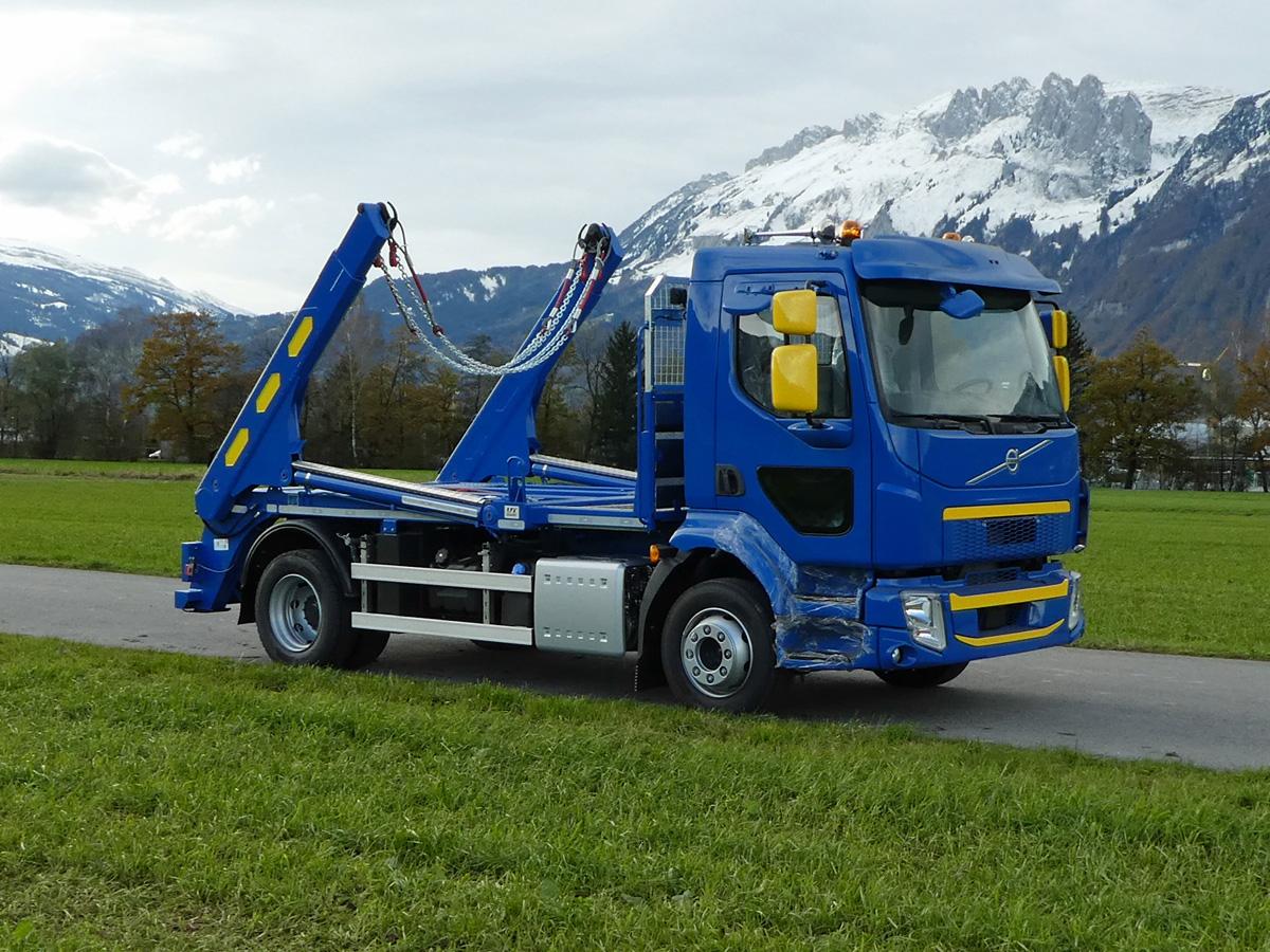 Welaki: Teleskop-Absetzkipper GIGANT 12T Comfort -Volvo