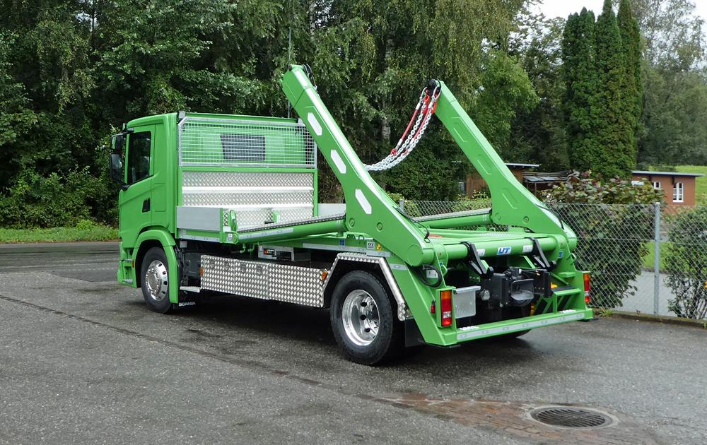 Welaki: Teleskop-Absetzkipper GIGANT 18T Comfort -Scania