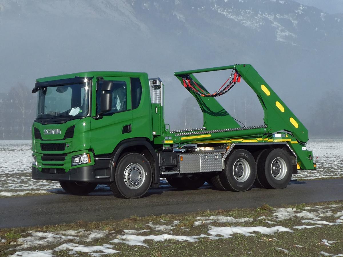 Teleskop-Absetzkipper GIGANT 32T Comfort -Scania