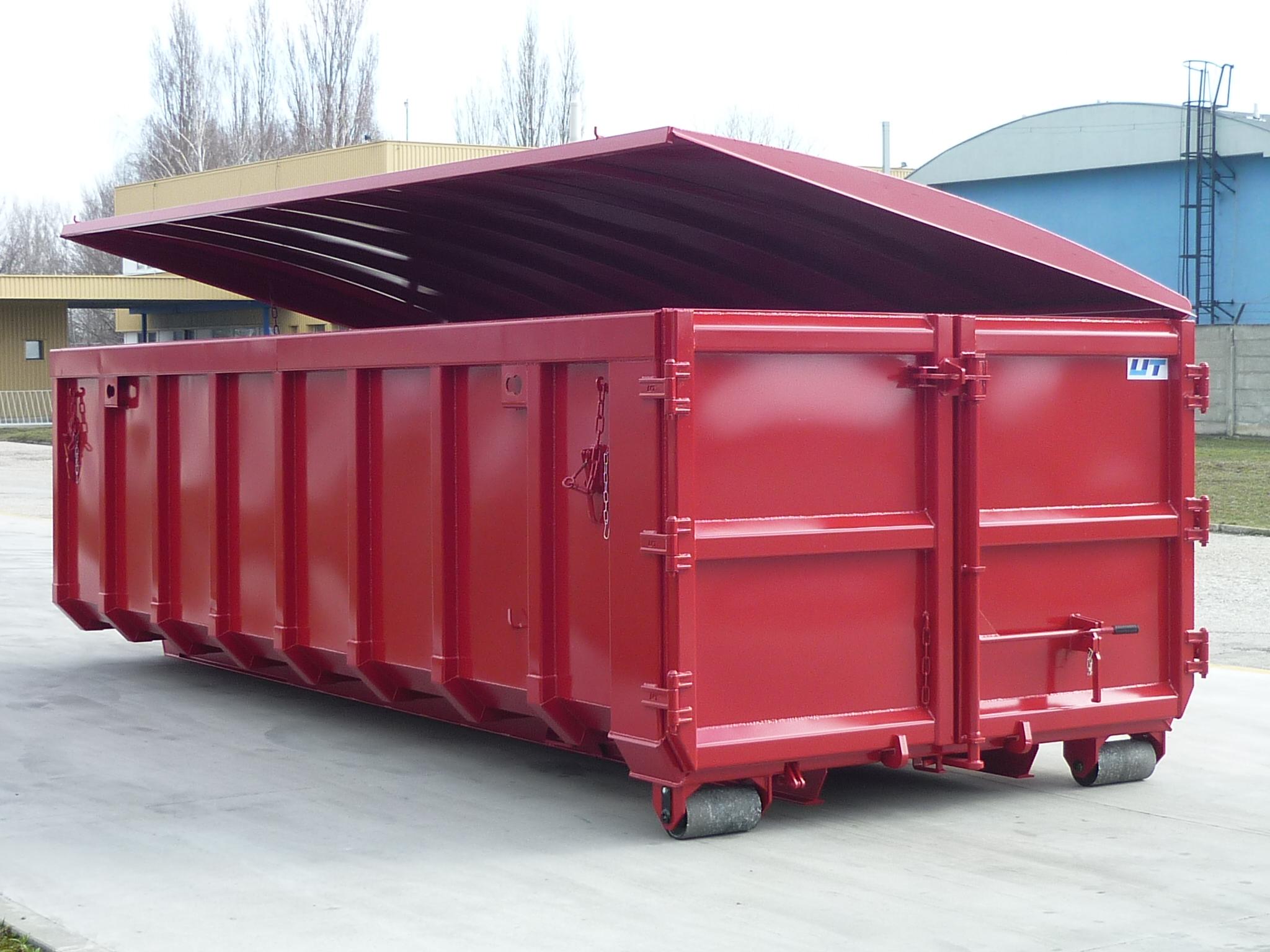 Container klassisch mit Windendach EASYLIFT