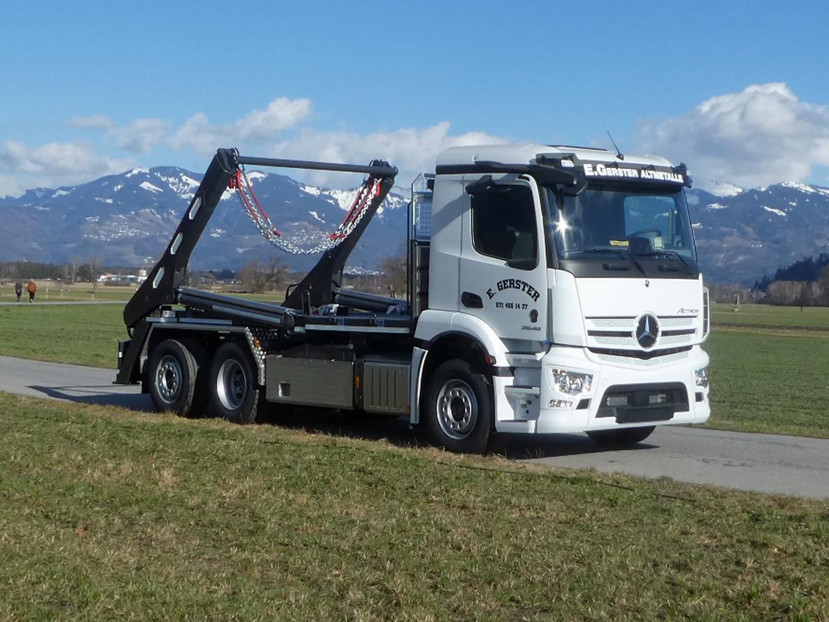 Teleskop-Absetzkipper GIGANT 26T Comfort -Mercedes Benz